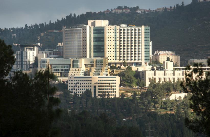 THE HADASSAH-UNIVERSITY Medical Center campus is seen in Ein Kerem. (photo credit: MOSHE SHAI/FLASH90)