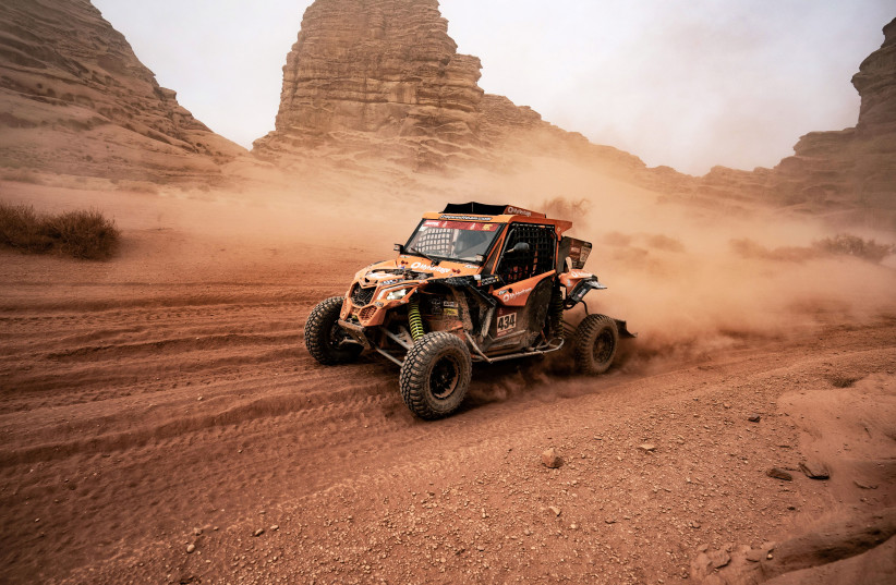 Saudi Arabia hosts Israeli racers for Dakar Rally after new inroads