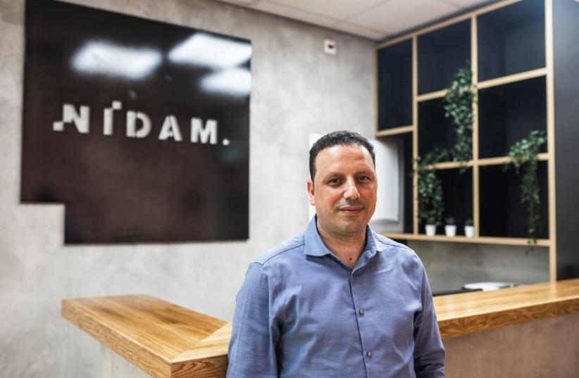 Amazon entrepreneur Shlomi Nidam, CEO of Nidam Communications.  (photo credit: AVITAL MOSHE)