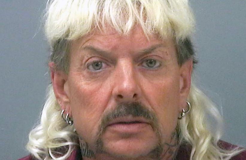 Mugshot of Joe Exotic from Santa Rose County Jail, 2018.  (photo credit: Wikimedia Commons)