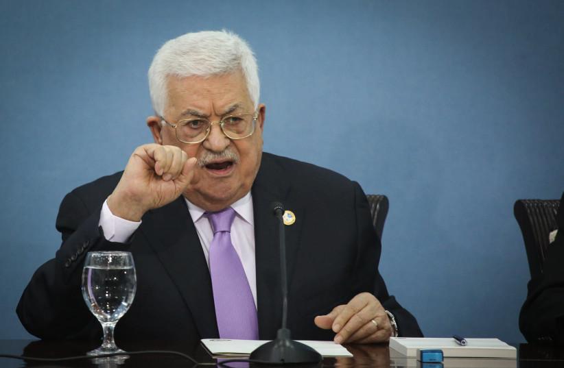 Palestinian Authority President Mahmud Abbas  (photo credit: FLASH90)