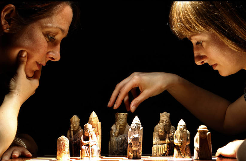 Chess (photo credit: REUTERS)