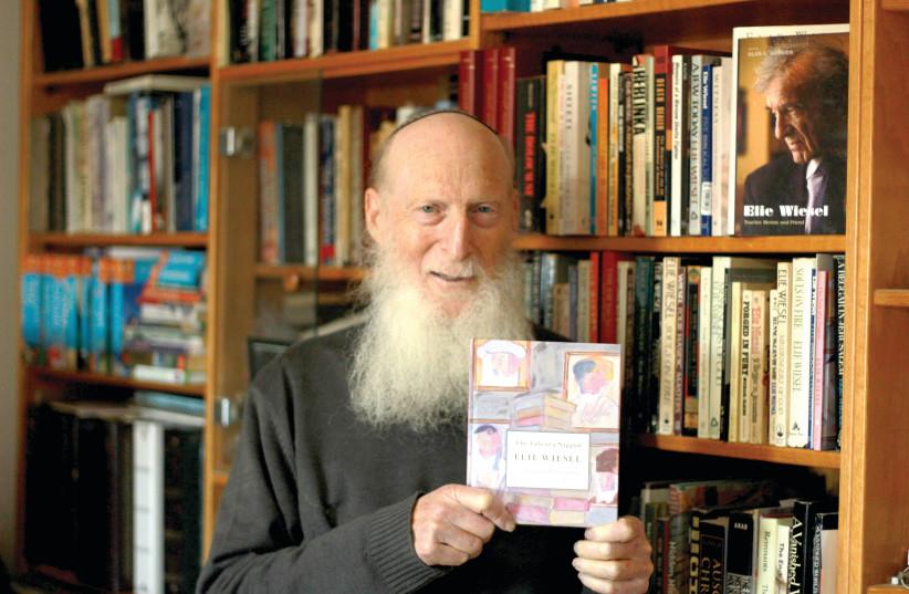 BOOKSTORE OWNER Mechael Pomeranz, student of Elie Wiesel.  (photo credit: RAPHAEL POMERANZ)