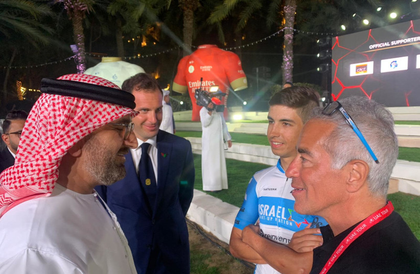 Omer Goldstein in the UAE (photo credit: BETTINI PHOTO)