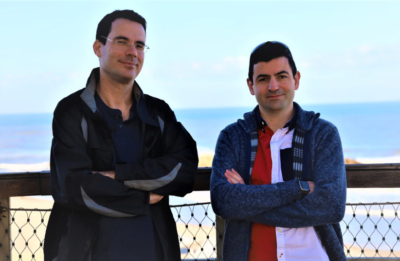 Michael Mumcuoglu (right) and Yair Manor (left) (photo credit: CARDINALOPS)