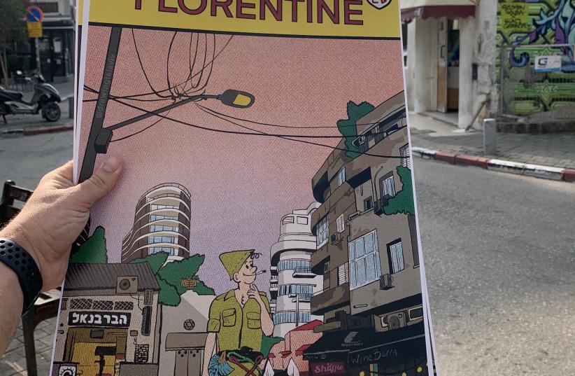 PAUL CURRAN'S Comic Florentine (photo credit: Courtesy)
