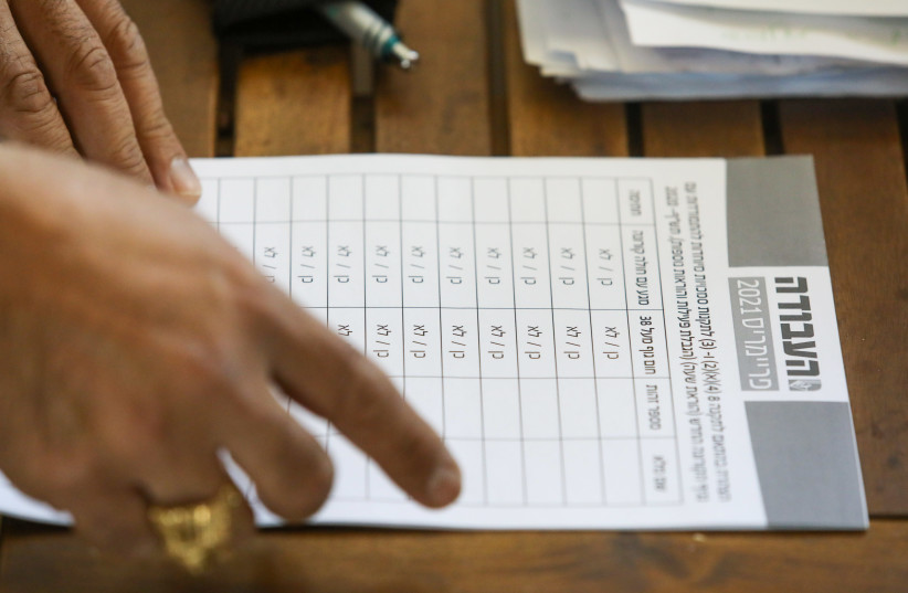 Israel's Labor Party holds primaries ahead of the March 2021 elections. (photo credit: MARC ISRAEL SELLEM)