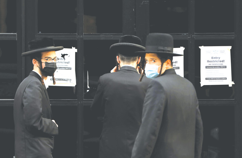 First results are in on COVID study of thousands of Orthodox Jews