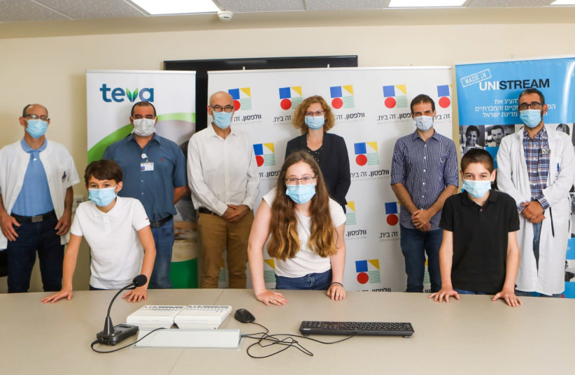 Some 200 children of medical staff in 11 teams from 10 hospitals all across Israel have come up with technological initiatives to fight the coronavirus. (photo credit: SHLOMI YOSEF)