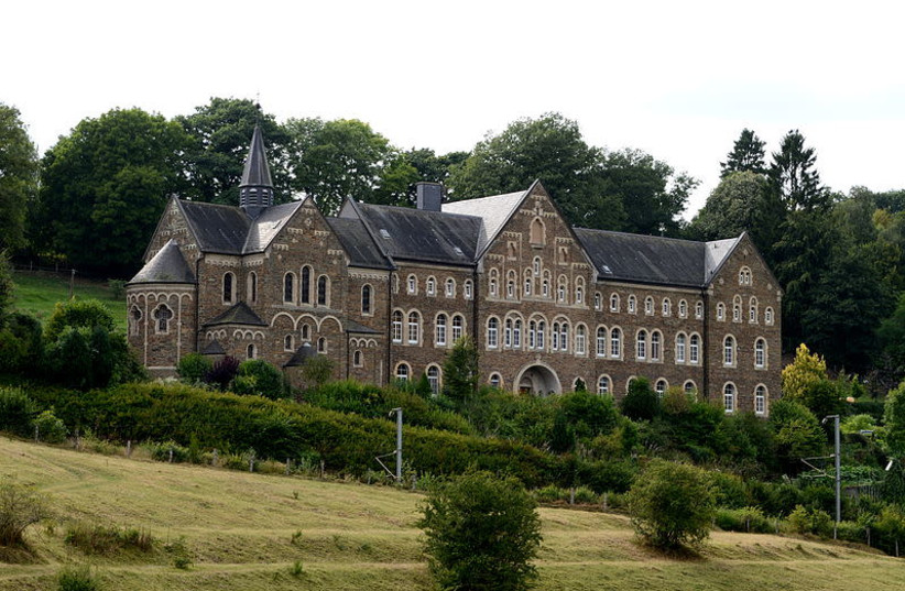 The Cinqfontaines Abbey in Luxembourg was converted by the Nazis into an internment camp for Jews before they were sent to concentration camps. (photo credit: Wikimedia Commons)