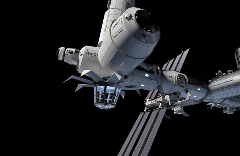 Axiom Space Station (photo credit: AXIOM SPACE)