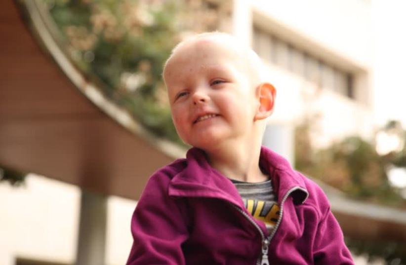 Lev is a 3-year-old-boy with cancer. Please help. (photo credit: Courtesy)