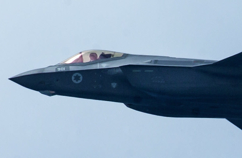 THE IDF F-35 'Adir' fighter plane. Could Chinese quantum radar render such stealth aircraft vulnerable?  (photo credit: FLASH90)