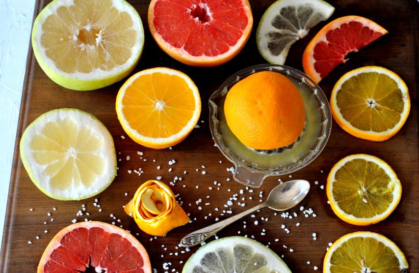 Candied citrus peels (photo credit: PASCALE PEREZ-RUBIN)