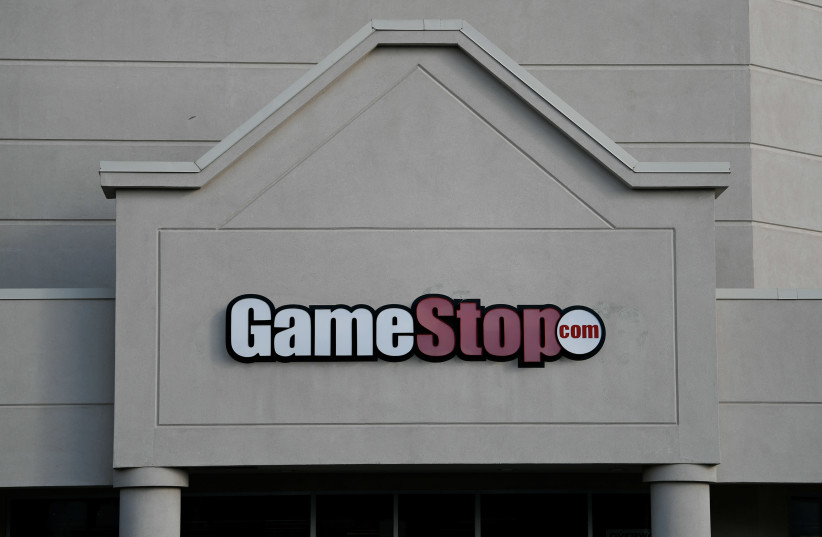 A GameStop store is photographed in Austin, Texas (photo credit: REUTERS)