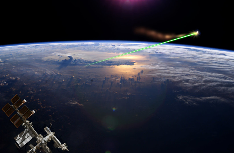 Did a Jewish space laser cause the deadly forest fire in California? (photo credit: WIKIMEDIA COMMONS/FULVIO314)