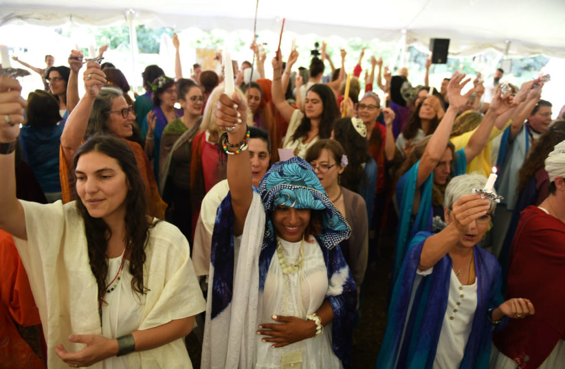 The Hebrew priestess movement aims to center womens' voices (photo credit: GILI GETZ/KOHENET HEBREW PRIESTESS INSTITUTE)