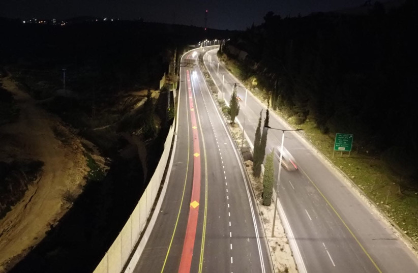 Jerusalem to install LED lights across the city  (photo credit: JERUSALEM MUNICIPALITY)