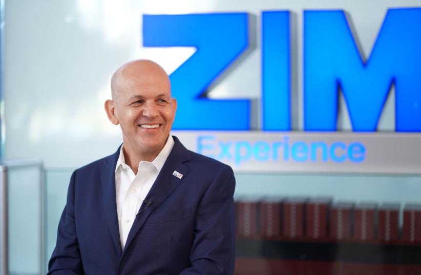 Eli Glickman, president and CEO of ZIM. (photo credit: RAPOPORT PRIVATE NEWS)