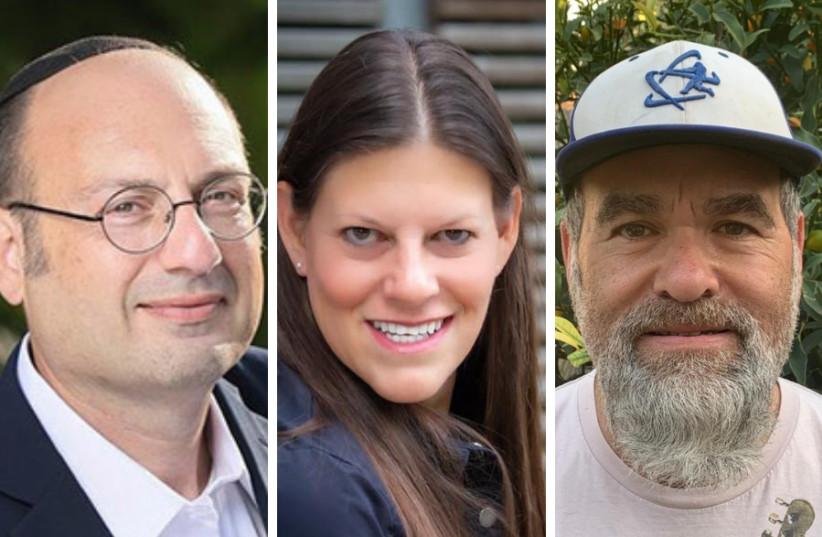 (L-R): Jonathan Rosenblum, Jodi Samuels, and Jordy Alter. (photo credit: Courtesy)