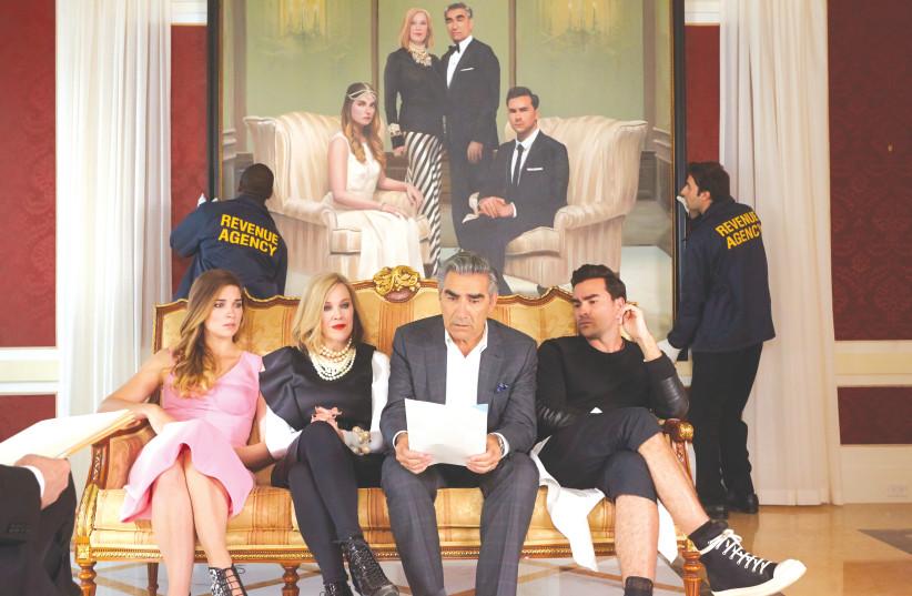 'SCHITT'S CREEK' won nine Emmys in 2020. (photo credit: COURTESY OF HOT)