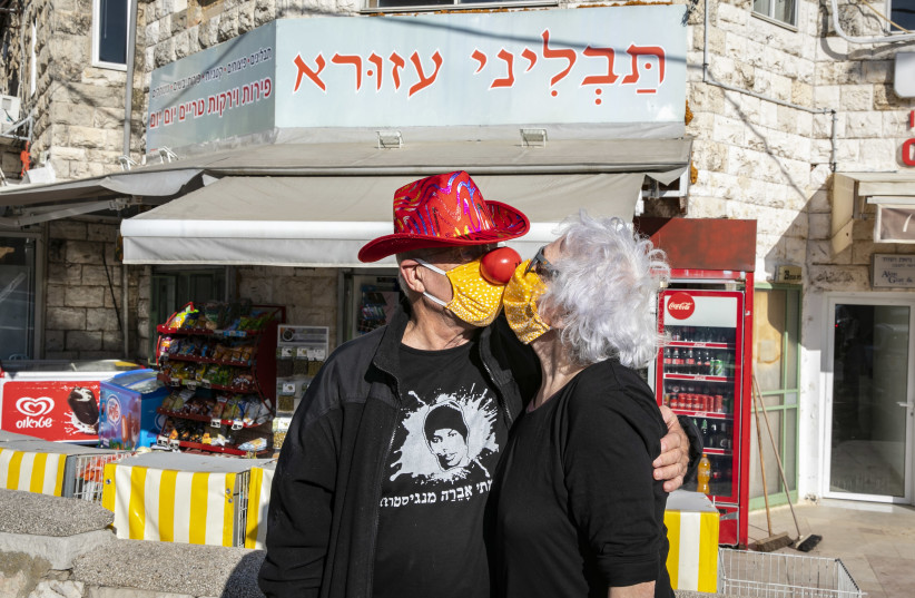 WE MAY have been blessed with abundance: In Jerusalem's Beit Hakerem neighborhood. (photo credit: OLIVIER FITOUSSI/FLASH90)