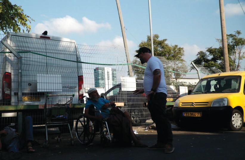 HOMELESS IN south Tel Aviv  (photo credit: LEKET ISRAEL)