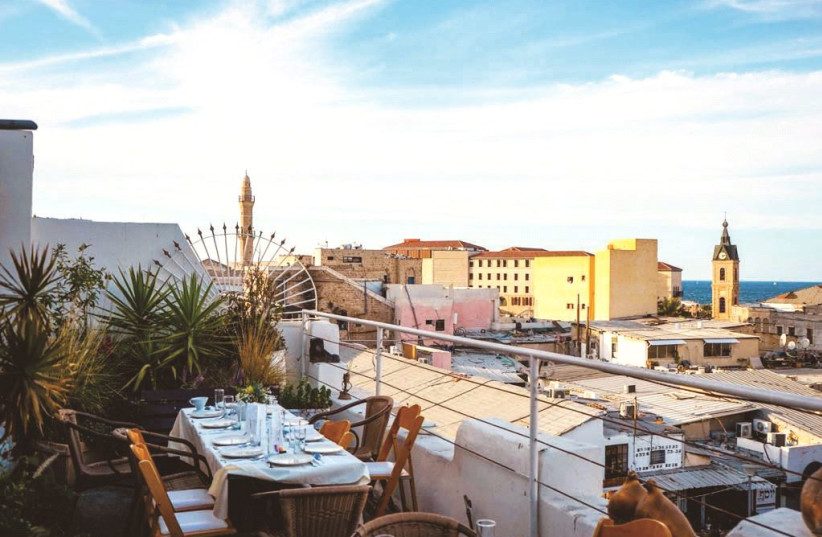 Jaffa bed and breakfast: Long-term room rentals and rooftop events help it stay afloat (photo credit: Courtesy)