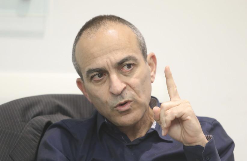 Former coronavirus commissioner Prof. Ronni Gamzu. (photo credit: MARC ISRAEL SELLEM/THE JERUSALEM POST)