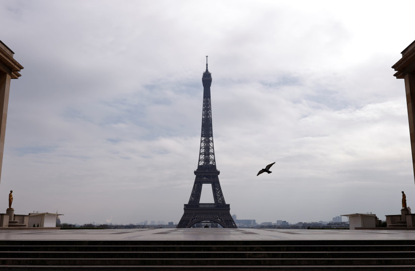 View of Paris, France and the Eiffel Tower  (photo credit: REUTERS)