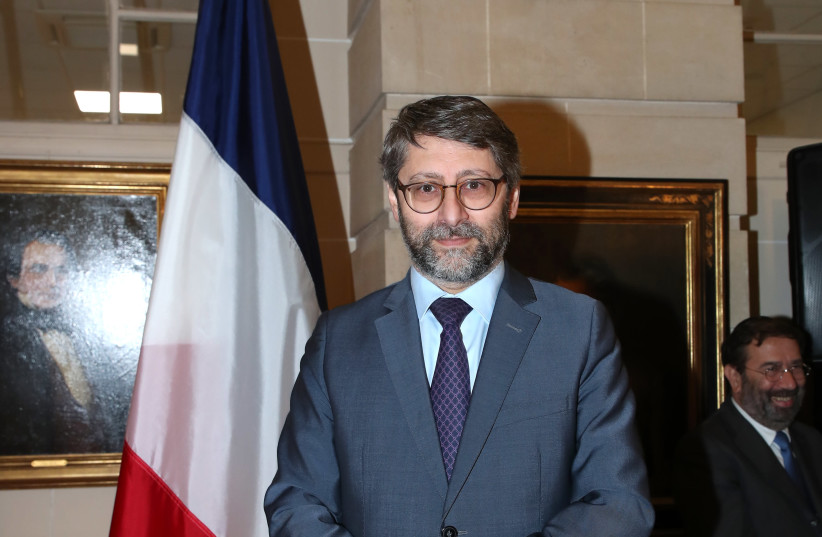 The trademark optimism of Haim Korsia, the chief rabbi of France, is coming under fire for the first time in the Jewish community. (photo credit: BERTRAND RINDOFF PETROFF/GETTY IMAGES)