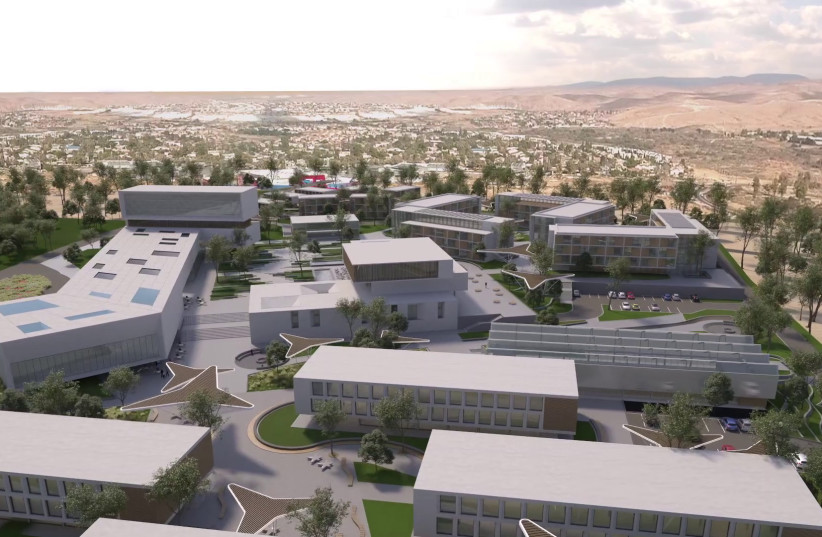 JNF-USA launches design competition for $350 m. World Zionist Village in Beersheba. (photo credit: JNF-USA)