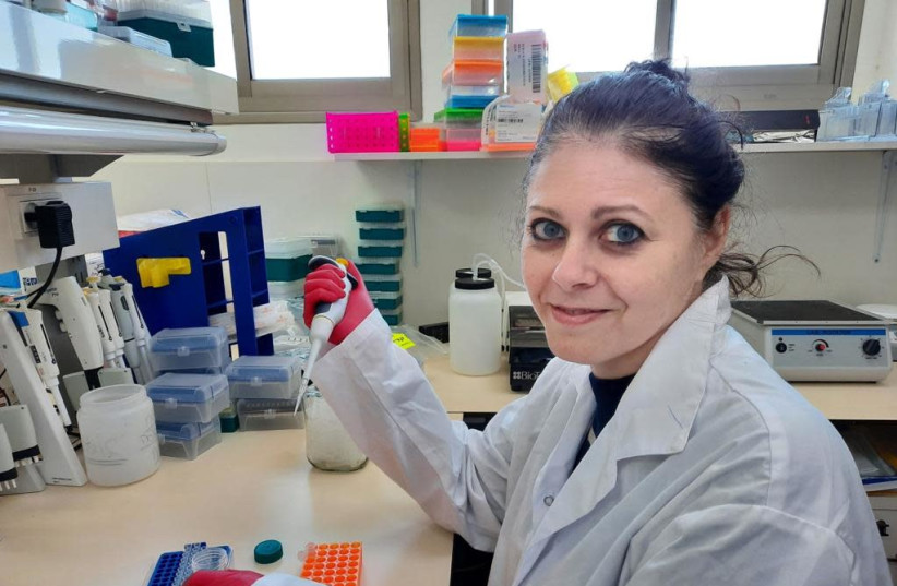 Dr. Dorit Avni from the MIGAL Galilee Research Institute receives the prestigious Horizon 2020 R&D grant, February 7, 2021.  (photo credit: MIGAL RESEARCH INSTITUTE)