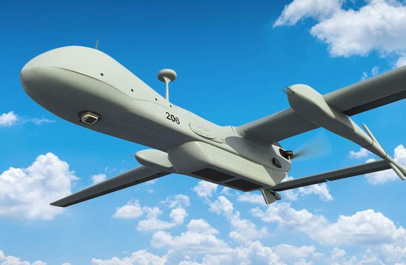 WASP system on Heron UAV (photo credit: IAI)