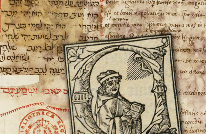 """Alfonso was certain that whoever read his compositions would never be able to reveal his secrets..."" (photo credit: POLYGLOT BIBLE/NATIONAL LIBRARY ISRAEL/ALFONSO DE )"