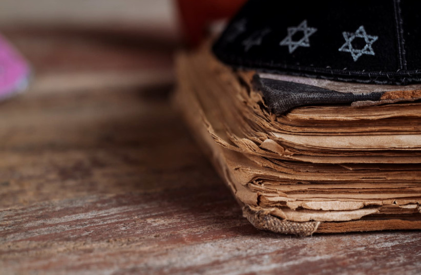 A kippah and a pile of documents.  (photo credit: GETTY IMAGES/JTA)