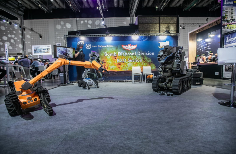 An ISDEF exhibition in Israel. (photo credit: ISDEF)