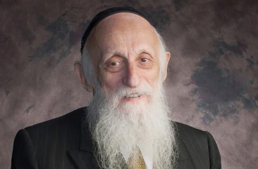 Rabbi Dr. Abraham Joshua Twerski (1930-2021). (photo credit: Courtesy)