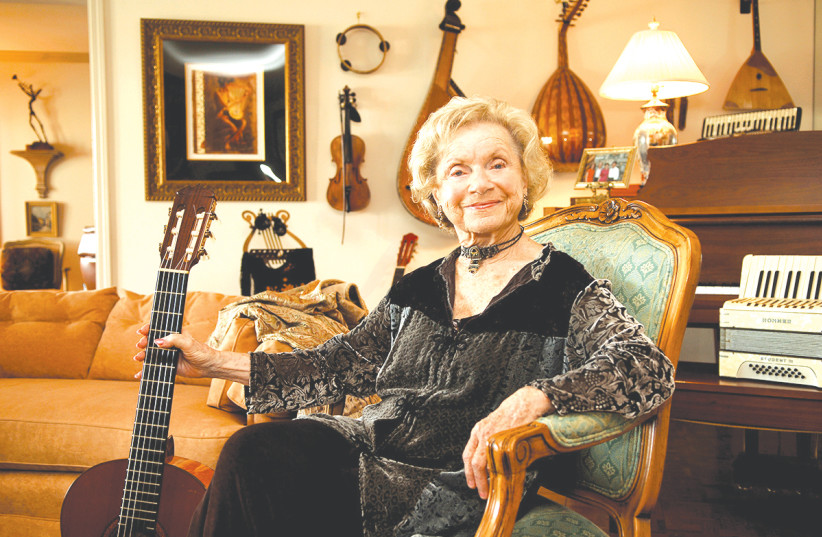 FLORY JAGODA  (photo credit: SMITHSONIAN CENTER FOR FOLKLIFE AND CULTURAL HERITAGE)