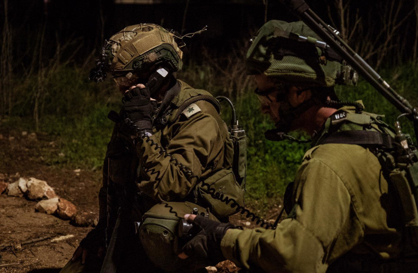 """IDF completes """"Lightning Storm"""" exercise in the north (photo credit: IDF)"""