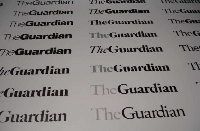 The Guardian's Redesign - Titlepiece (photo credit: Wikimedia Commons)