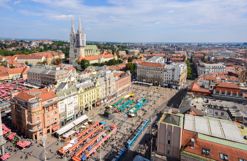Zagreb, Croatia's capital city (photo credit: WIKIMEDIA COMMONS/NICK SAVCHENKO)