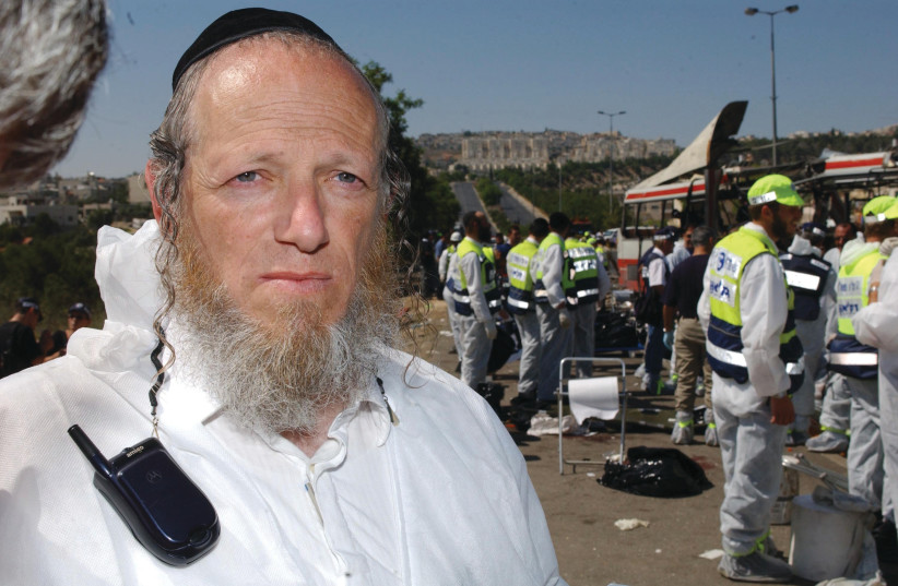 HAVE THOSE who disparage the entire haredi community not heard of Rabbi Yehuda Meshi Zahav, the haredi founder of ZAKA? (photo credit: FLASH90)