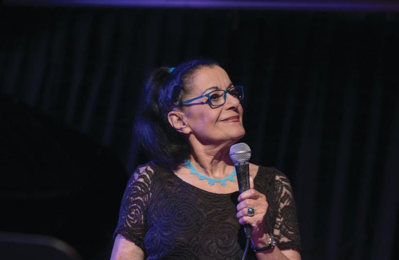 EDNA GOREN, a grand dame of the Israeli jazz scene. (photo credit: PETER VIT)