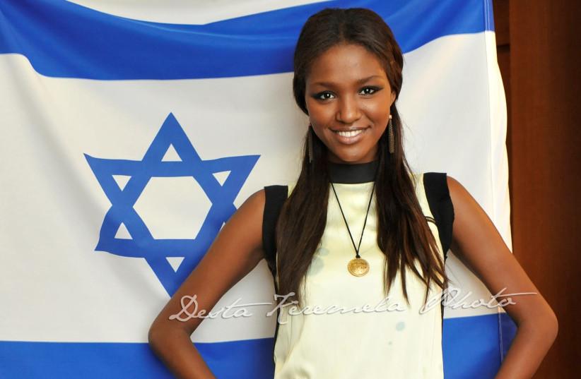 Former Miss Israel Yityish 'Titi' Ayanaw (photo credit: GENESIS FOUNDATION 123)