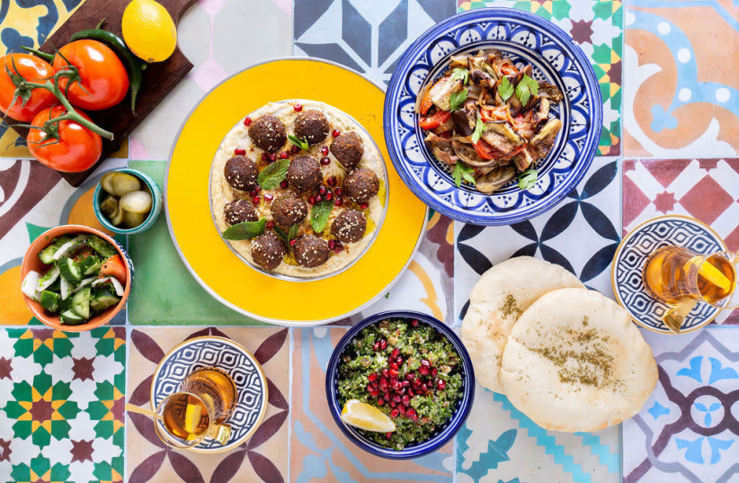 Elli Kriel, a sociologist by training, has succeeded as a chef by fusing traditional Jewish and Emirati recipes. (photo credit: COURTESY OF KRIEL)