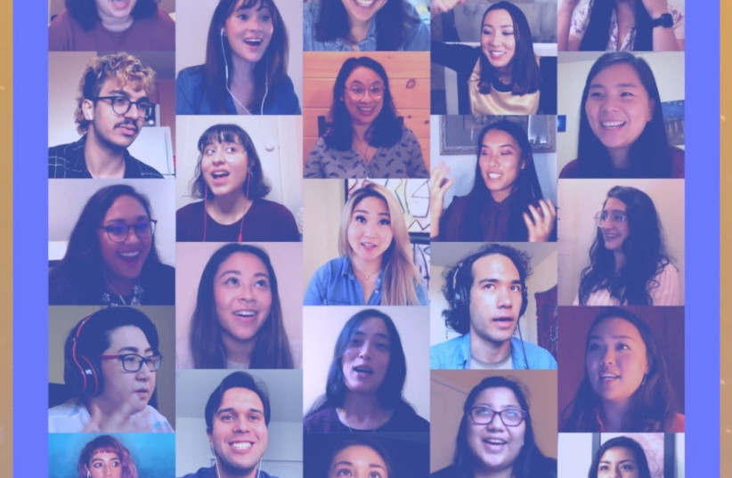 The Lunar project brought over 20 Asian American Jews together in conversation. (photo credit: COURTESY OF LUNAR)