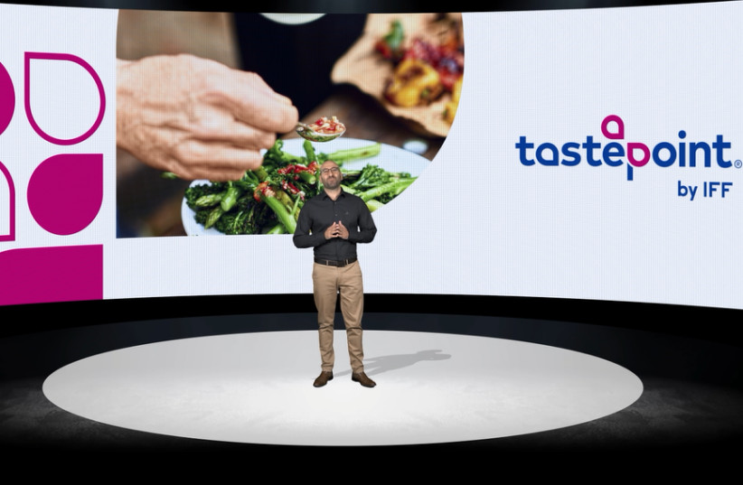 Tastepoint Israel Shimi Benodis presents the new company at an online event. (photo credit: Courtesy)