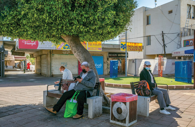 A GENERAL VIEW of Kiryat Malachi. After many years of neglect, towns in the periphery threaten to erupt like a volcano. This is the real epidemic – the social epidemic. (photo credit: YOSSI ALONI/FLASH90)