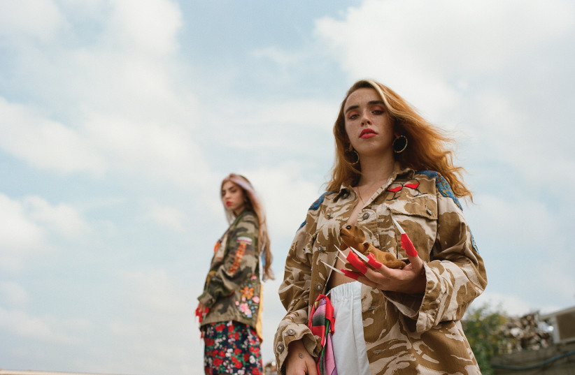 Avigail Kolker fashion (photo credit: COURTESY NAMAL TEL AVIV AND COMME IL FAUT)